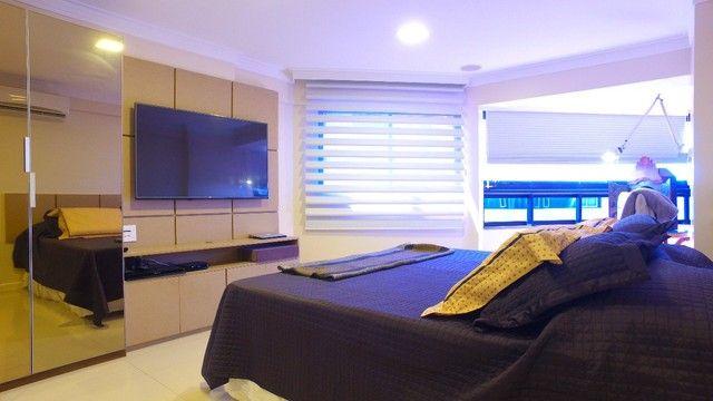 Apartamento beira mar com 195 metros quadrados com 4 suítes em Pajuçara - Maceió - AL - Foto 15