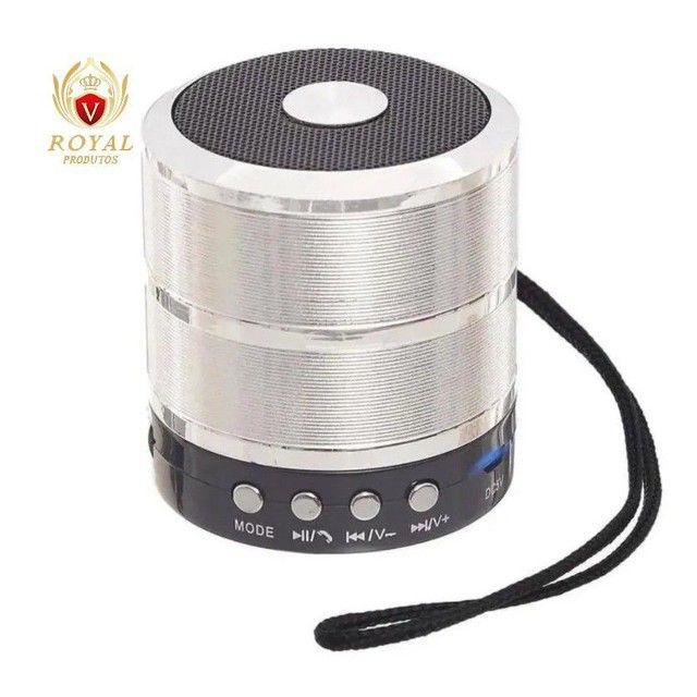Caixinha Som Ws-887 Bluetooth Portátil Usb Mp3 P2 Sd Rádio Fm - Foto 5