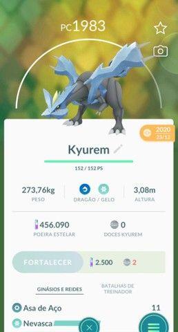 Lendários Pokemon go, 10 reais cada - Foto 6