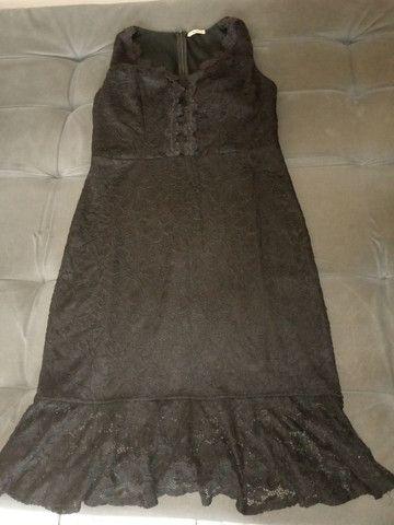 Vestido de festa, tamanho: 44.