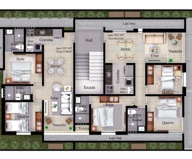 Apartamento no Altiplano com 2 Quartos sendo 1 suíte, Piscina A Partir de R$ 187.900,00* - Foto 7