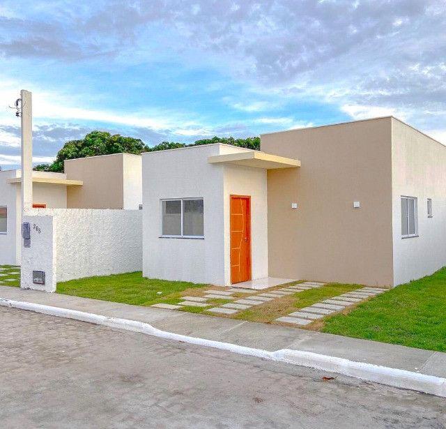 Casas de 2/4 com área para ampliação, próximo do Tomba! - Foto 2