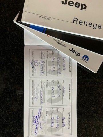 Jeep Renegade Lougitude 1.8 41m km Blindado. entrada com cartao em 12x. - Foto 16