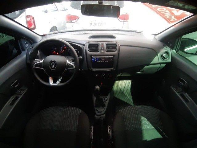 DT - Logan 1.0 flex 3C 2020 Seem Entrada - Ideal para uber/99pop Baixo km - Foto 4