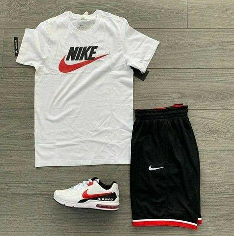 KIT Com 1 Bermuda + 1 camiseta + 1 tênis adulto Original  2021 - Foto 3