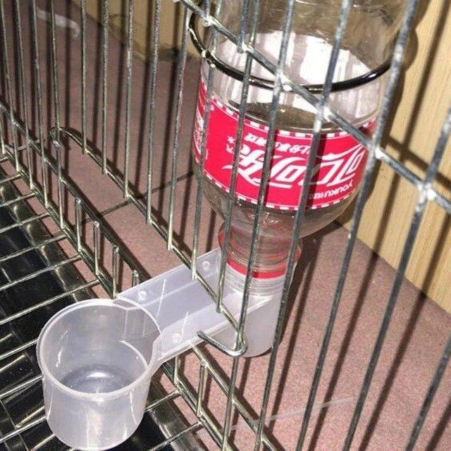 Bebedouro Para Aves Rosqueável Em Qualquer Garrafas PET - Foto 4