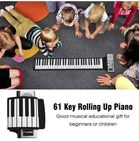 Piano musical flexível eletrônico - Foto 2