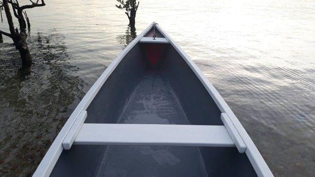 Canoas em Fibra de Vidro (sem motor) - Foto 9