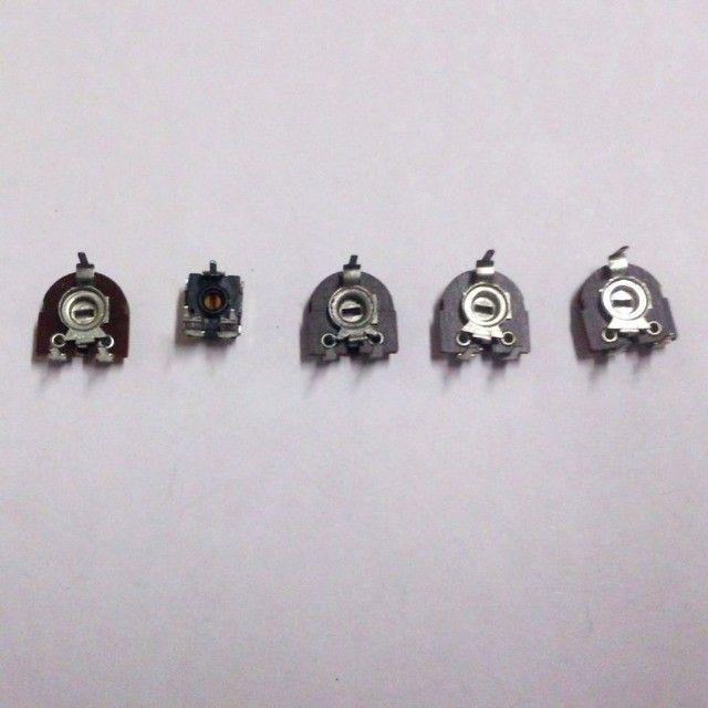 Trimpot mini deitado lote com 25 peças 5 valores diferentes - Foto 3