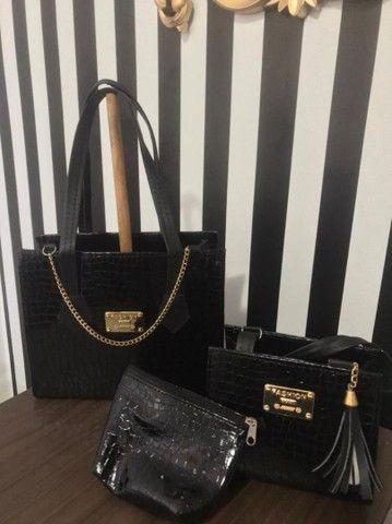 Lindas bolsas,qualidade e maravilhoso dezaine - Foto 4