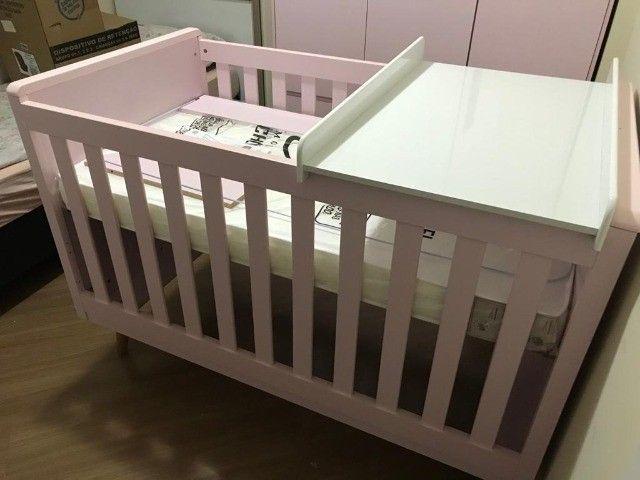 Kit: Berço e Guarda-Roupas para Bebê - Foto 3