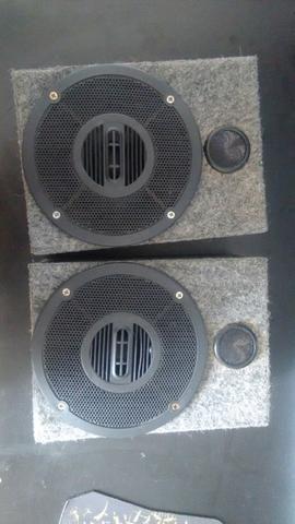Par caixa de som potente
