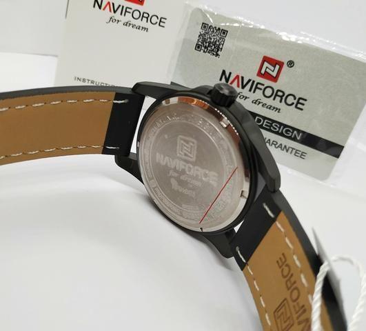 96c00f44eb3 Lançamento Relógio Masculino Naviforce Original Pronta Entrega Promoção