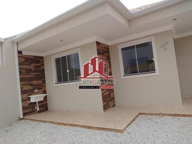 Casa à venda com 3 dormitórios em Eucaliptos, Fazenda rio grande cod:CA00115 - Foto 4