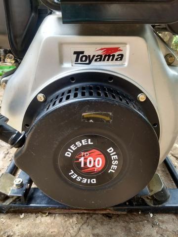 Motobomba auto escovante Diesel Toyama - Foto 2