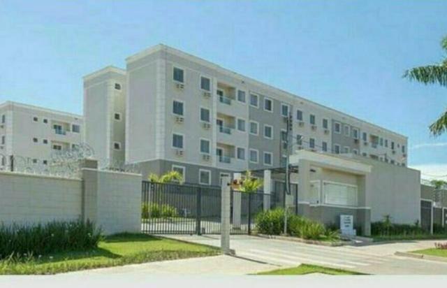 Vendo apartamento no condomínio Chapada Imperial com 2/4 sendo 1 suíte e sacada - Foto 8