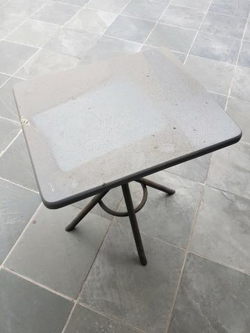 Mesa em Madeira com Pés em Aço Artesian - Foto 2