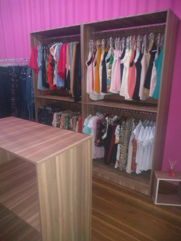 Kit Móveis para loja cor madeirada ou branca - Foto 2