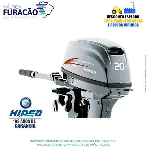 Motor de Popa Hidea 20hp Manual - Foto 2