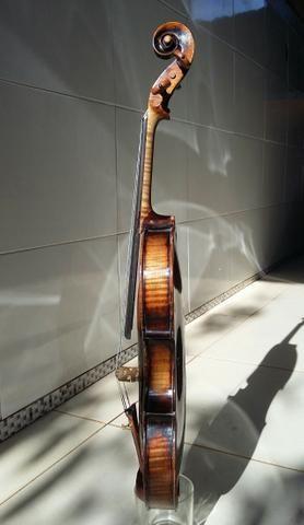 Extraordinário* Violino Antigo, Francês, Centenário. Raridade. Link de vídeo na descrição - Foto 5