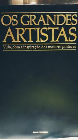 Livro de Arte de pintores famosos - Foto 2