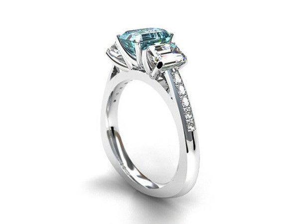 Anel de Noivado com Diamante - Foto 2