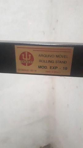 Expositor Mapoteca Para Projetos Ate 10 Cabides Trident - Foto 2