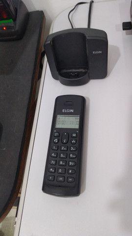 Telefone sem fio Elgin TSF 8001 + Bina + Viva Voz - Foto 2