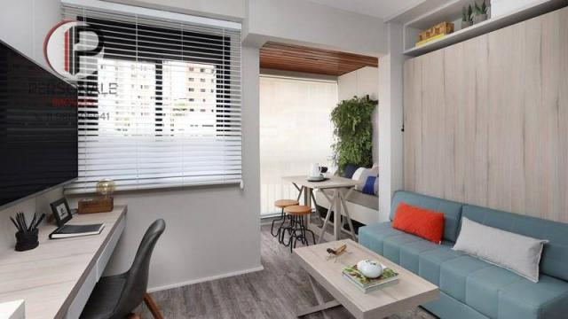 Studio com 1 dormitório à venda, 21 m² por R$ 340.990,00 - Vila Madalena - São Paulo/SP - Foto 3