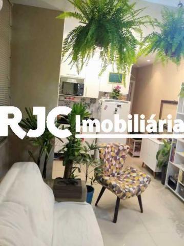Apartamento à venda com 1 dormitórios em Humaitá, Rio de janeiro cod:MBAP10246 - Foto 17