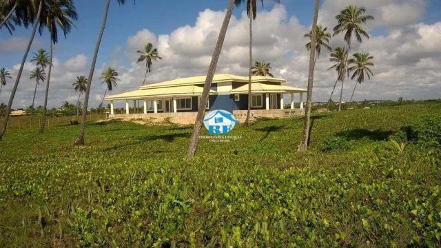 Casa à venda com 4 dormitórios em Centro, Arembepe (camaçari) cod:180