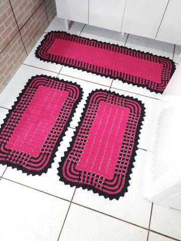 Vende-se Tapete de crochê - Foto 3