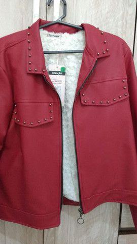 Jaqueta couro sintético  - Foto 3