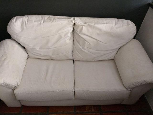 Sofá Corino Branco
