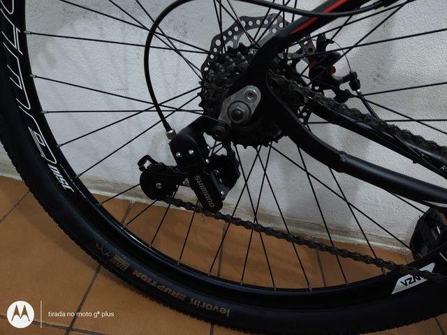 Bicicleta aro 29 KSW 21 marchas Praticamente Nova - Foto 5
