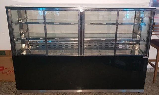 Balcão Vitrine expositor refrigerado auto serviço