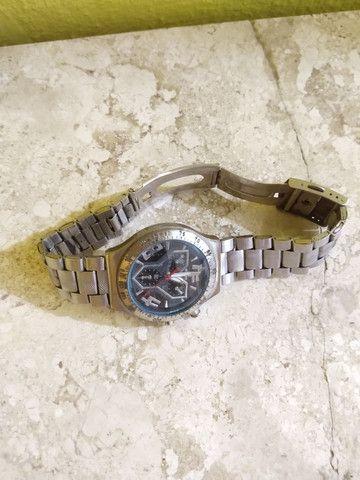 Relógio c/ pulseira de aço - Foto 2