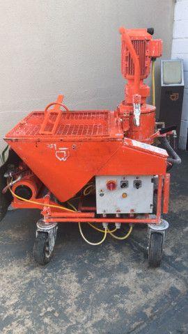 Máquina de projetar reboco PFT G4 - Foto 4