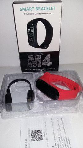 Relógio Pulseira Inteligente Fitness Smart M4 - Foto 2