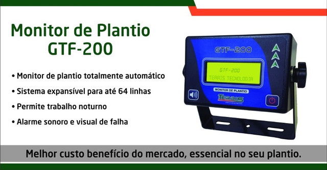 Monitor de Plantio GTF-200 - Foto 3