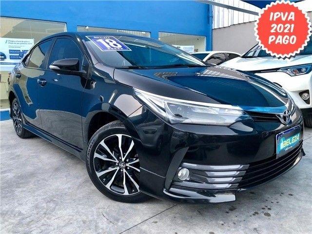 Toyota-Corolla Xrs 2.0 flex 2018 Financiamos sem comprovação de renda