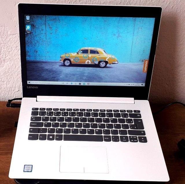 notebook lindo branco, lenovo i3, 6 geração, 4gb - Foto 6