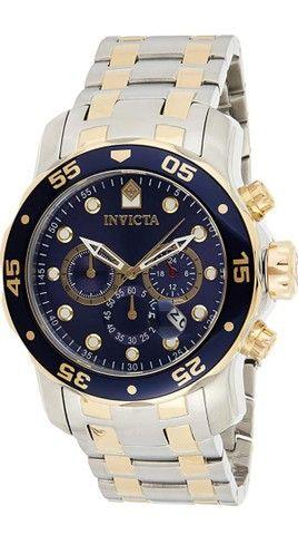 Relógio Invicta Prata e Dourado