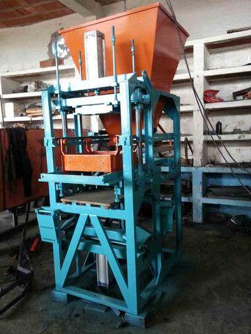 Máquina de fazer bloco de cimento Pneumática