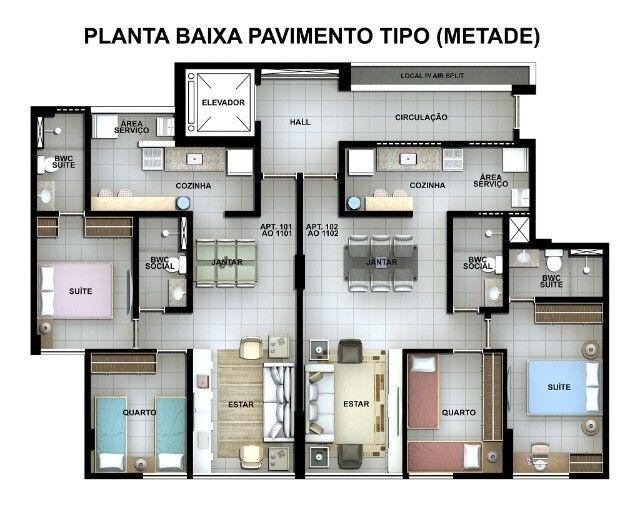MD I Edf. André Gide /Excelente Apartamento, 2 Dorm/ Encruzilhada - Foto 13