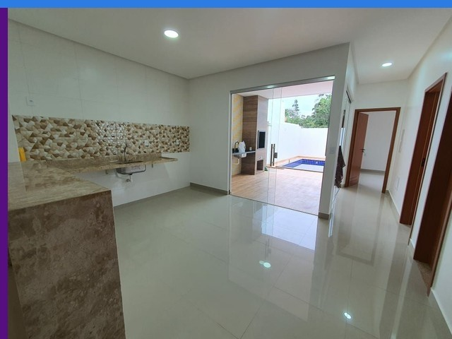 Negra comPiscina Ponta Casa 3 Suítes Condomínio morada dos Pássa - Foto 12