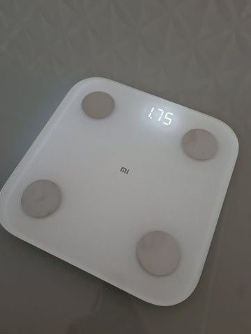 Balança Biopedância Xiaomi NOVA!