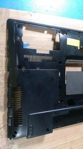 Carcaça Base Inferior Samsung Rv411 - 104 - Foto 4