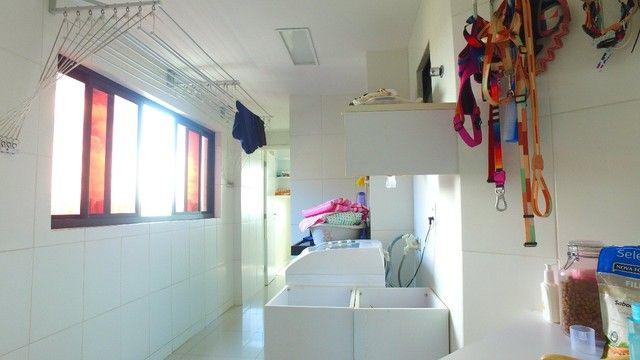 Apartamento beira mar com 195 metros quadrados com 4 suítes em Pajuçara - Maceió - AL - Foto 19