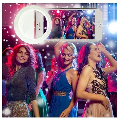 Mini Ring Ligth Para Fotos Selfie e Vídeos Para Celular - Foto 3